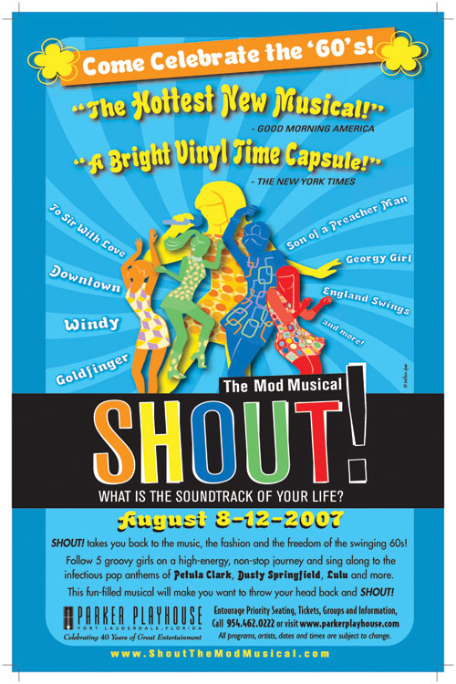 Chicago, IL SHOUT! Poster