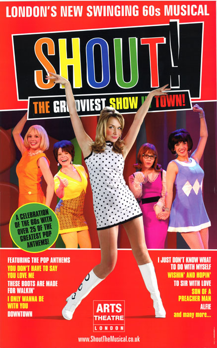 London, England SHOUT! Poster