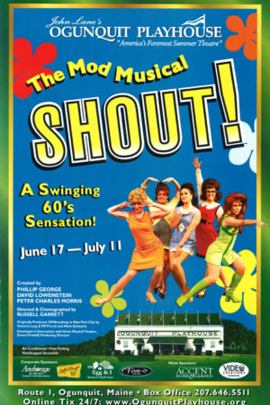 Ogunquit, ME SHOUT! Poster